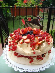 Tort Pavlovej - lato
